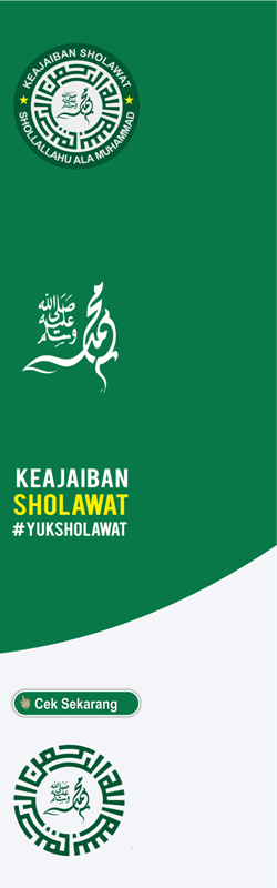 banner sholawat